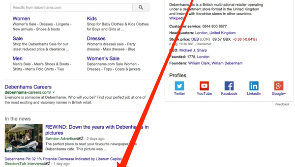 Tweets in Desktop Search