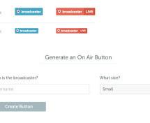 Periscope Website Button