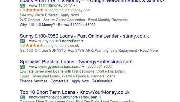 Payday Loans Ad Ban